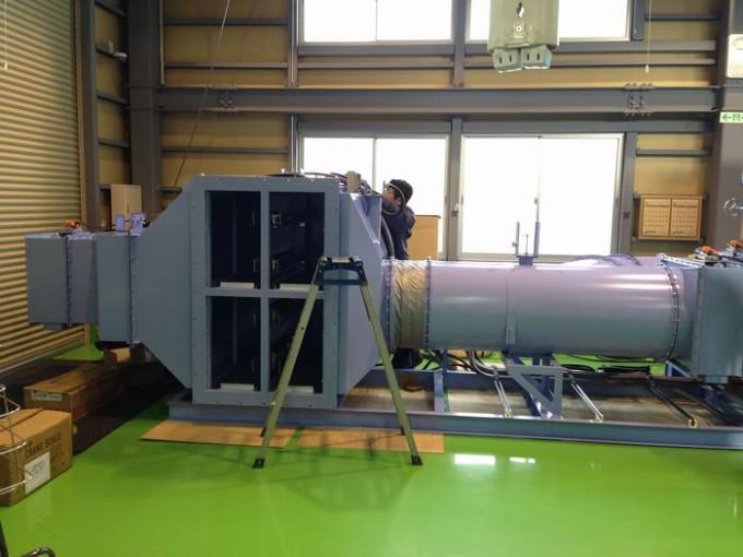 陽圧システム 写真
