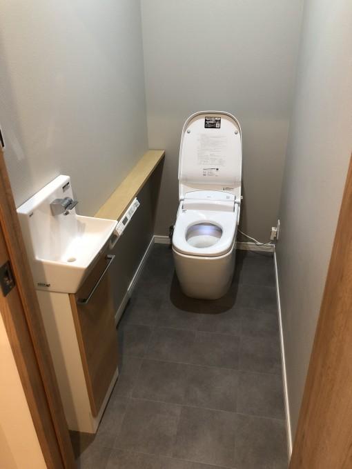 トイレ新築工事 写真