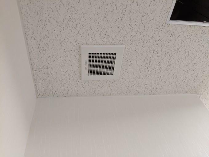 天井換気扇設置工事 写真